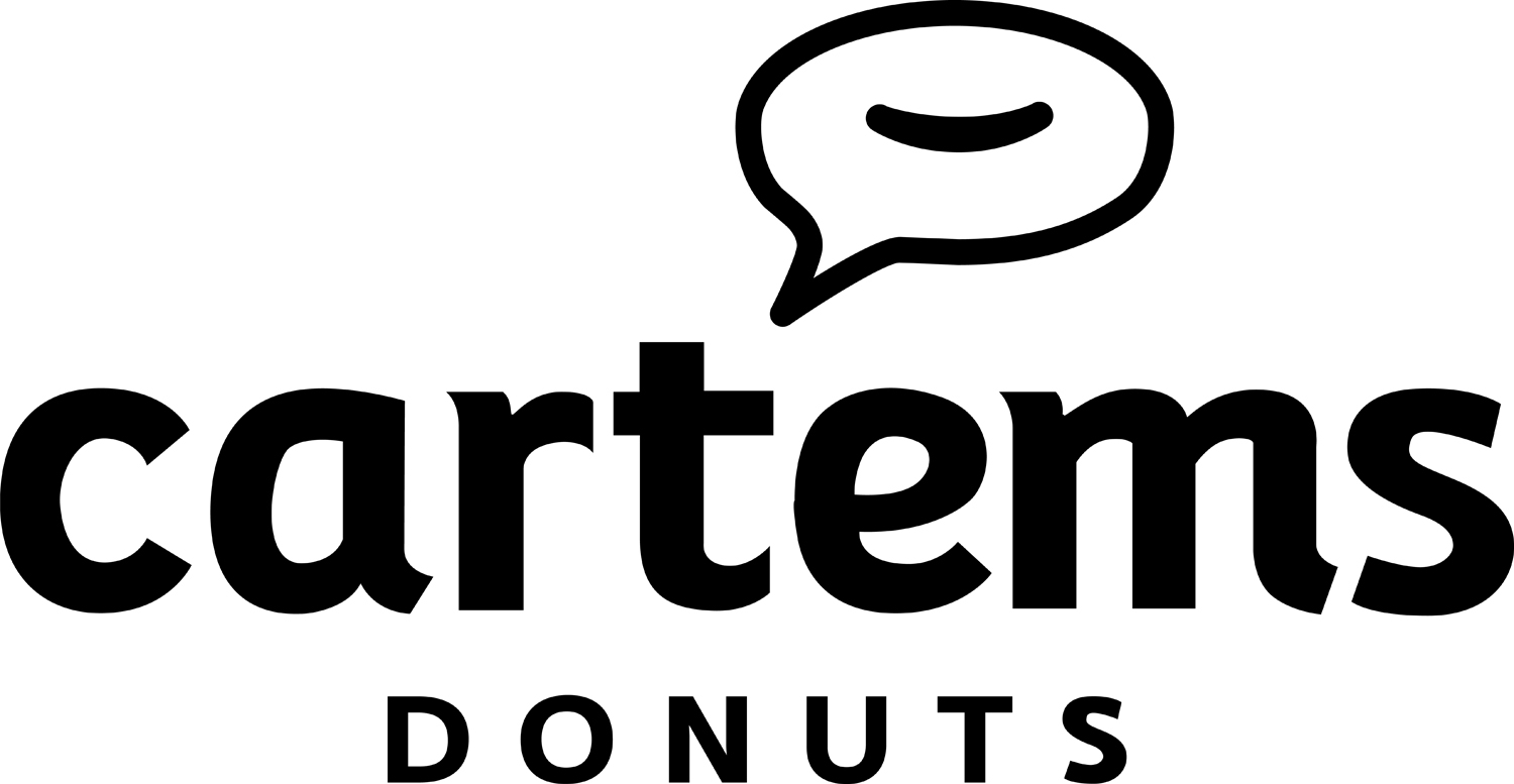 Cartems Donuts Full Logo