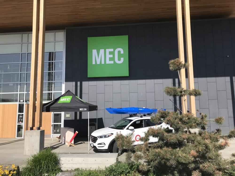 Modo parked outside MEC