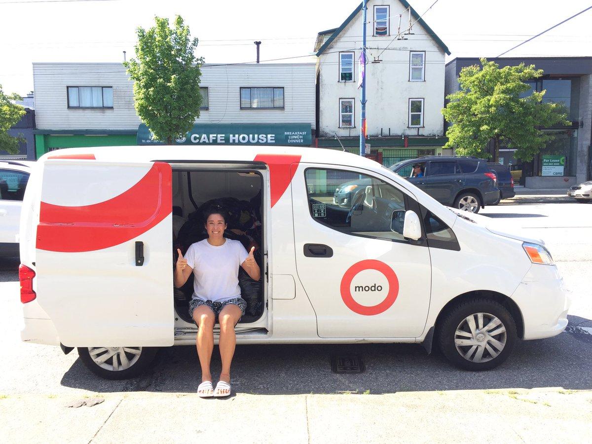 Writers Exchange Cargo Van Summer