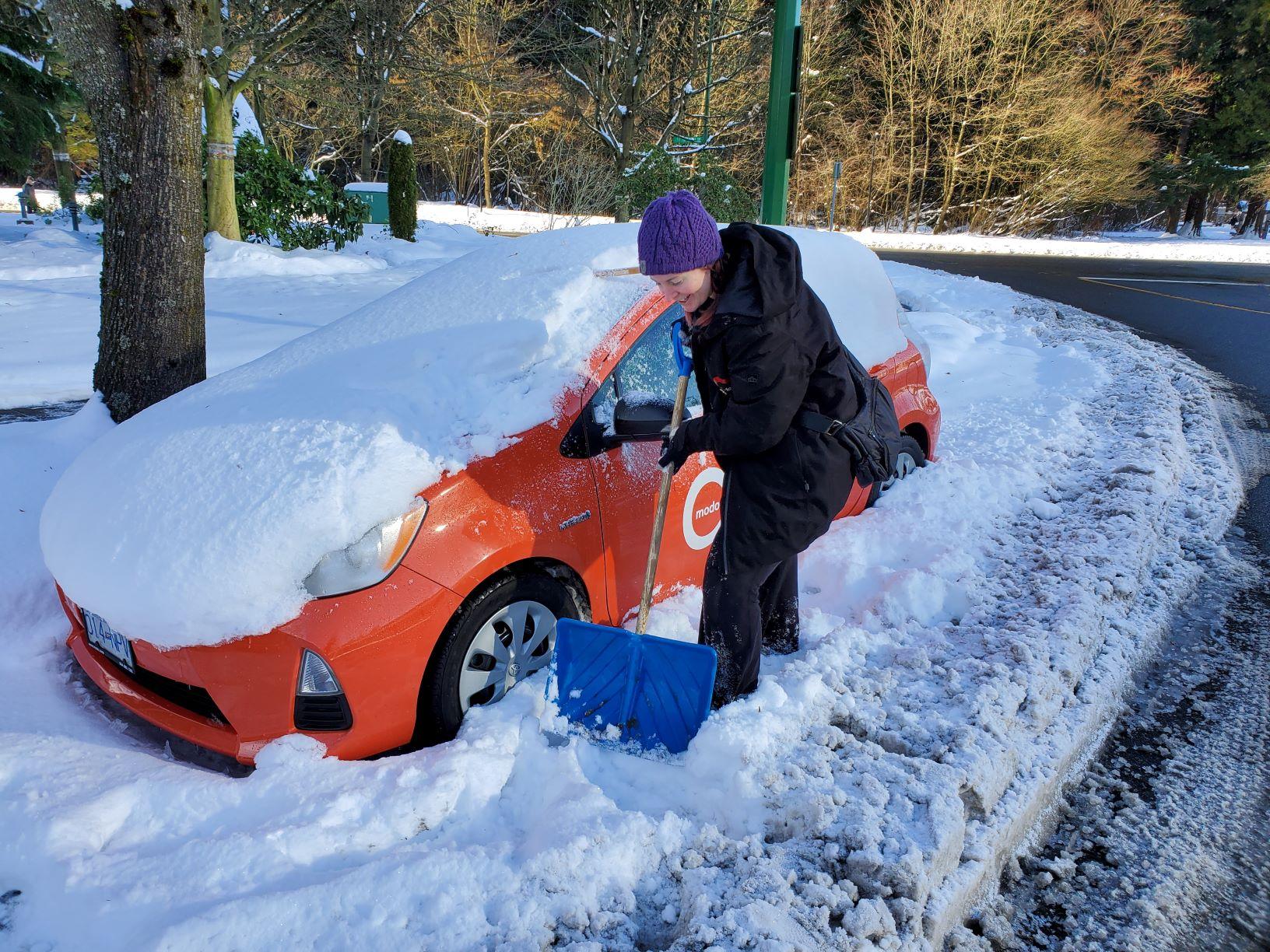 Modo snow dig out