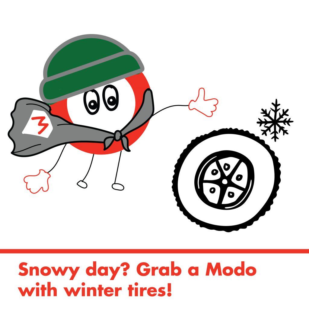 winter tires Modo