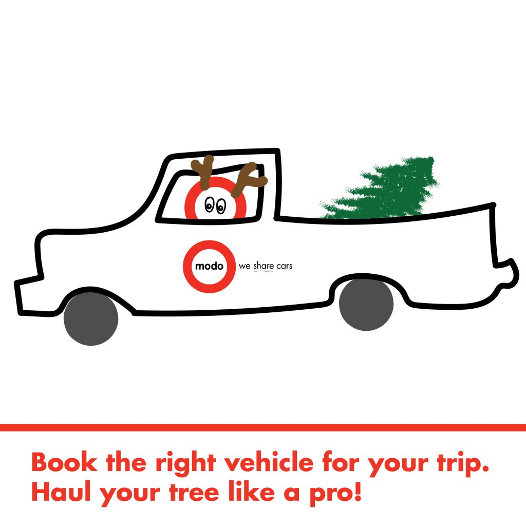 Modo Truck winter etiquette