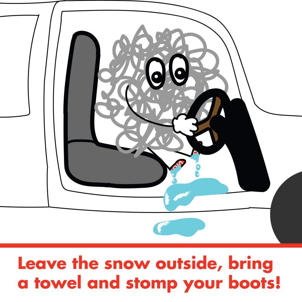 Winter driving Modo